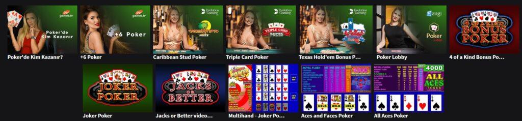 jojobet poker